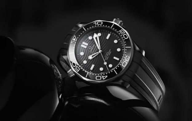 OMEGA's new Seamaster Diver 300M in black ceramic and titanium